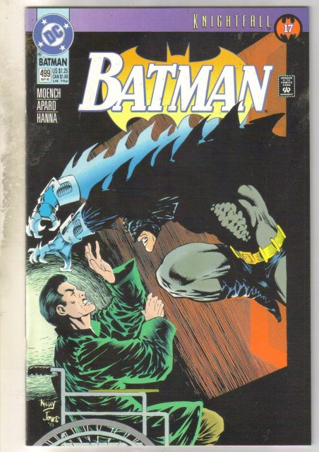 Batman #499 comic book mint 9.8