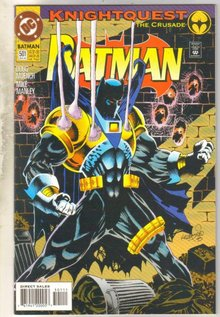 Batman #501 comic book near mint 9.4