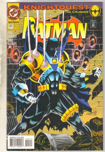 Batman #501 comic book near mint 9.4