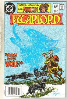 Warlord #62 comic book near mint 9.4