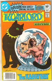 Warlord #63 comic book very fine 8.0