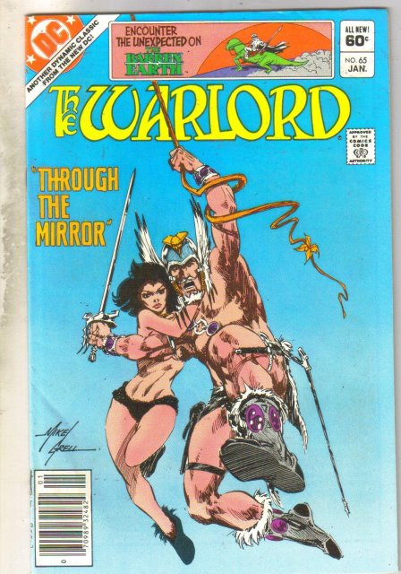 Warlord #65 comic book very fine 8.0