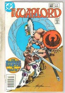 Warlord #67 comic book fine 6.0