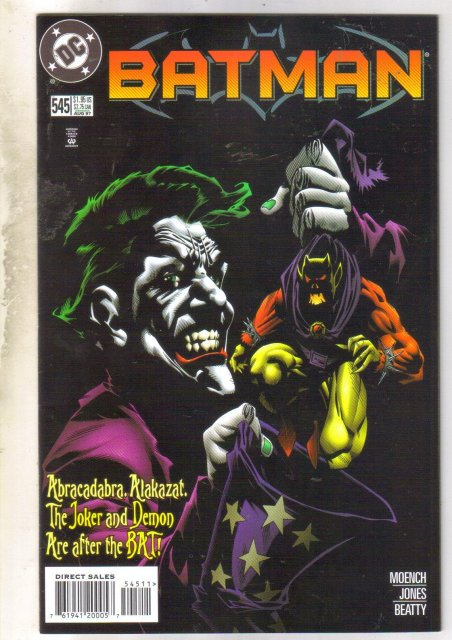 Batman #545 comic book very fine 8.0