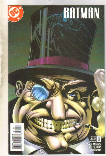 Batman #549 comic book near mint 9.4