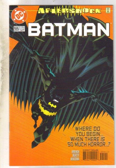 Batman #555 comic book near mint 9.4
