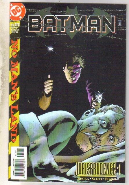 Batman #572 comic book near mint 9.4