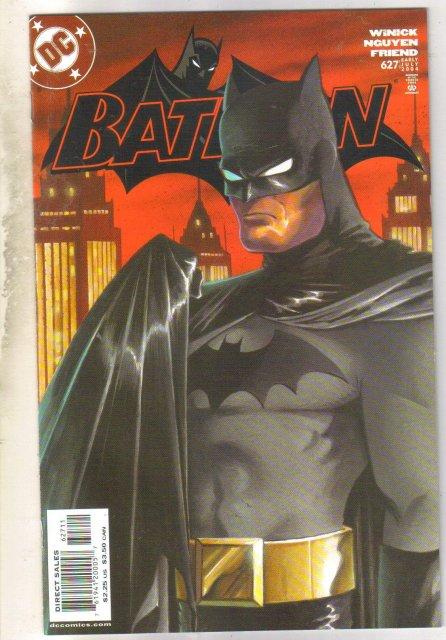 Batman #627 comic book near mint 9.4