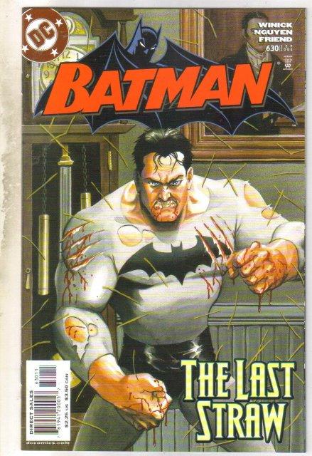 Batman #630 comic book near mint 9.4