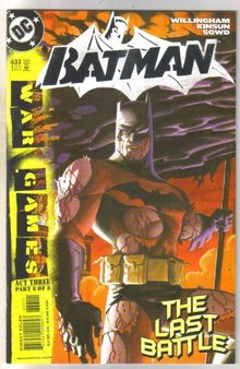 Batman #633 comic book near mint 9.4