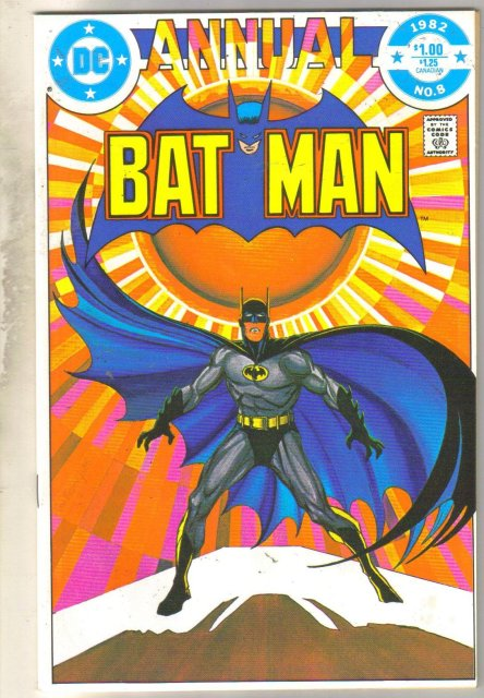 Batman Annual #8 comic book mint 9.8