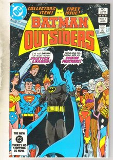 Batman and the Outsiders #1 comic book mint 9.8