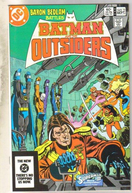 Batman and the Outsiders #2 comic book mint 9.8