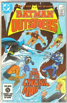Batman and the Outsiders #6 comic book mint 9.8