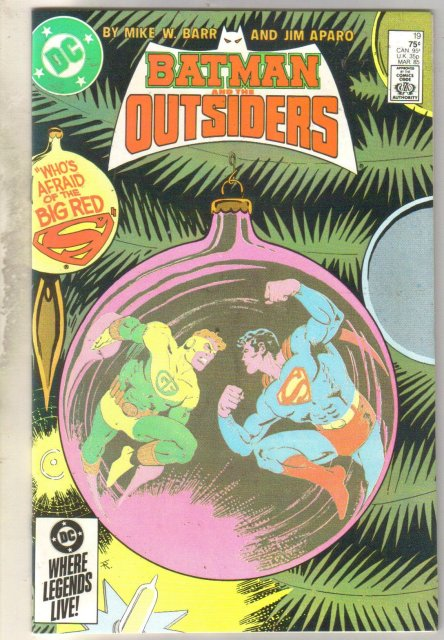 Batman and the Outsiders #19 comic book mint 9.8