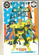 Batman and the Outsiders annual #1 comic book mint 9.8