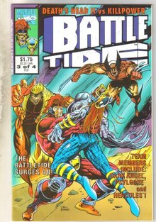 Death's Head II vs Killpower Battle Tide #3 comic book mint 9.8