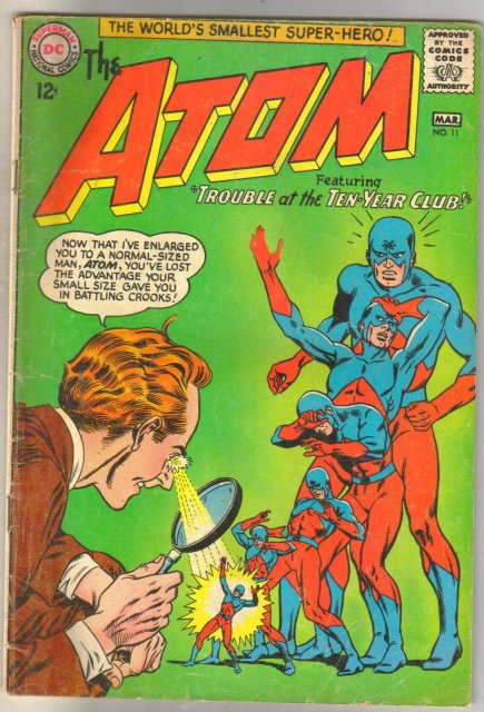 The Atom #11 comic book very good 4.0