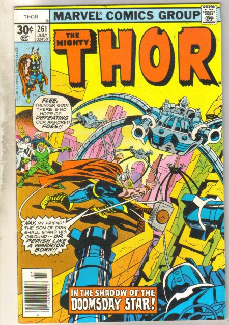 Thor #261 comic book very fine 8.0