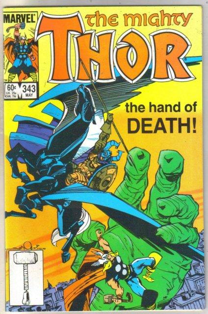 Thor #343 comic book mint 9.8