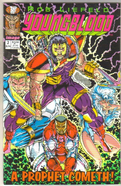 Youngblood #2 comic book mint 9.8