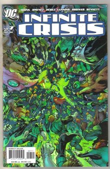 Infinite Crisis #7 comic book mint 9.8