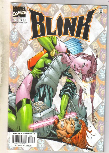 Blink #2 comic book mint 9.8