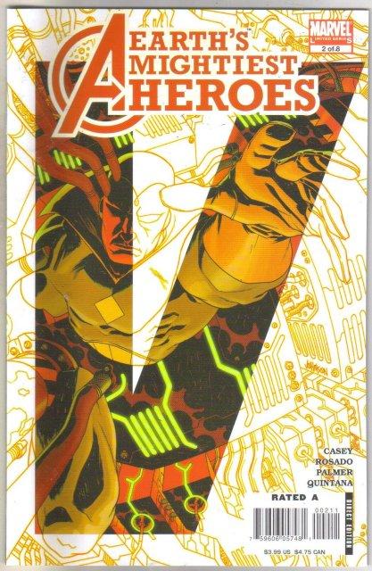 Avengers Earth's Mightiest Heroes II #2 comic book mint 9.8