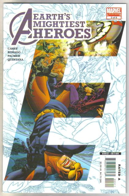 Avengers Earth's Mightiest Heroes II #3 comic book mint 9.8