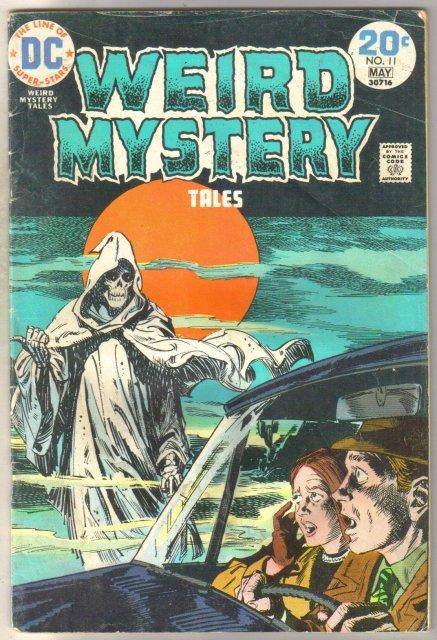 Weird Mystery Tales #11 comic book fair 1.5