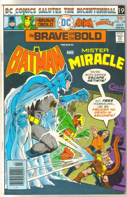 Brave and the Bold #128 (Mister Miracle) comic book fine 6.0