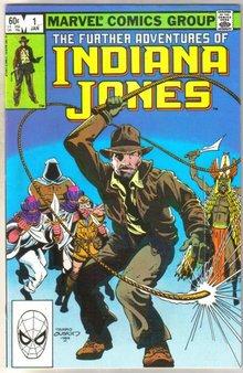 Further Adventures of Indiana Jones #1 comic book very fine 8.0