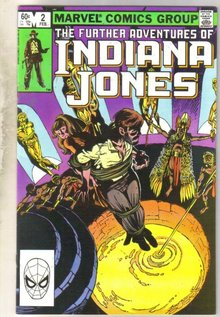 Further Adventures of Indiana Jones #2 comic book very fine 8.0