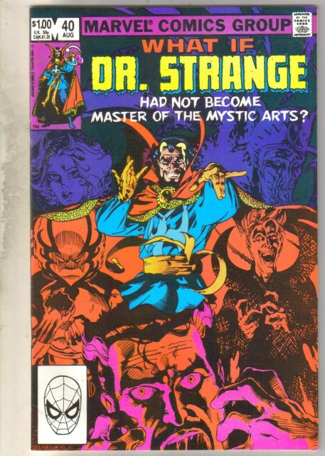 What If? #40 (Dr. Strange) comic book near mint 9.4