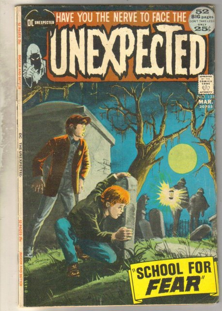 Unexpected #133 comic book very good 4.0