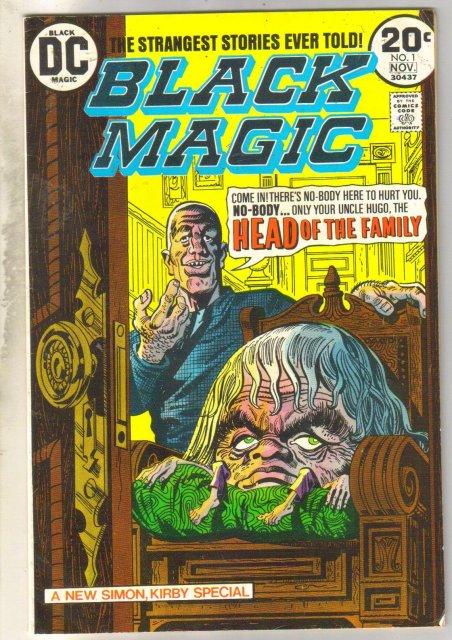 Black Magic #1 comic book very good/fine 5.0