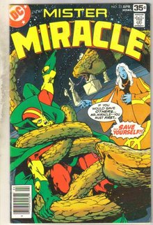 Mister Miracle #23 comic book fine/very fine 7.0