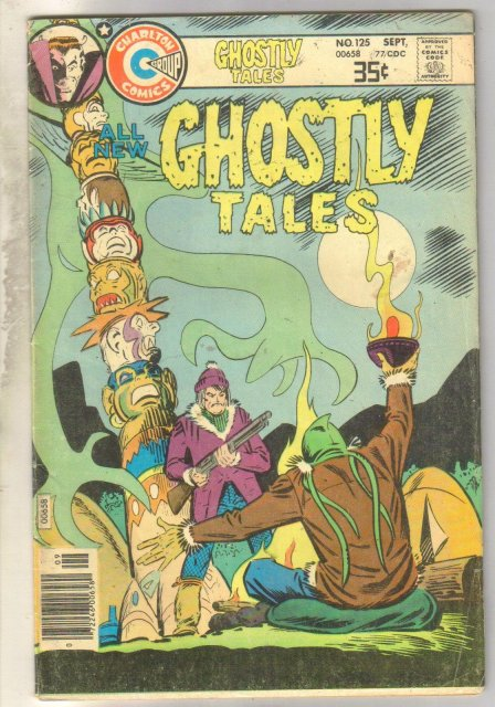 Ghostly Tales #124 comic book very good 4.0