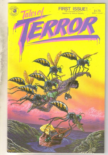 Tales of Terror #1 comic book near mint 9.4