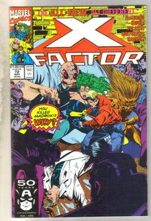 X-Factor #72 comic book near mint 9.4