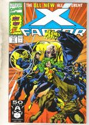 X-Factor #71 comic book near mint 9.4