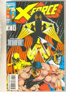 X-Force #26 comic book near mint 9.4