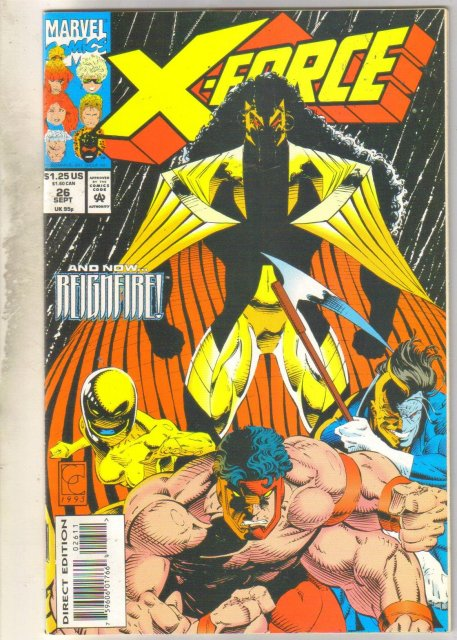 X-Force #26 comic book near mint 9.4