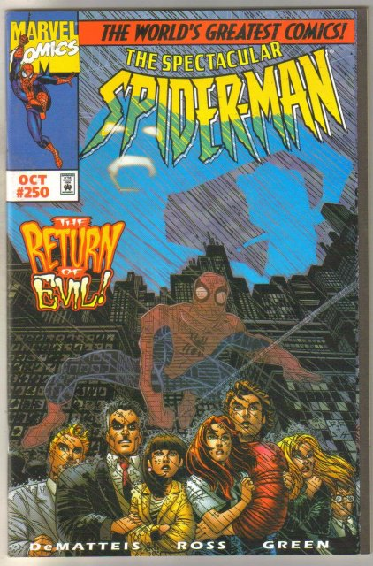 Spectacular Spider-man #250 comic book mint 9.9