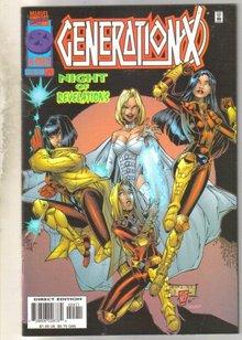 GenerationX #24 comic book near mint 9.4