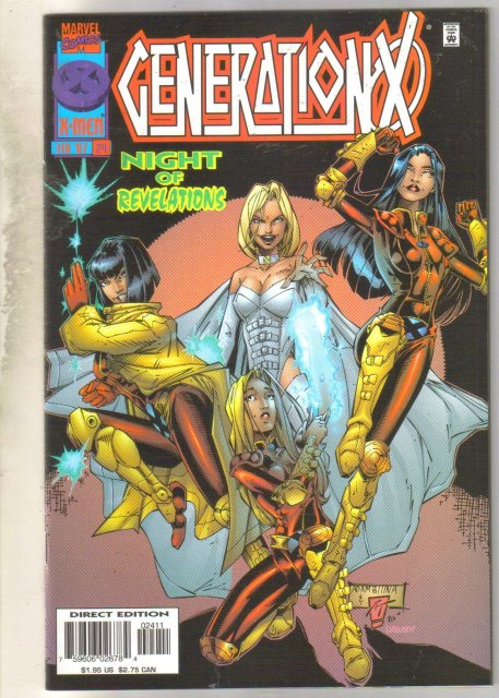 GenerationX #24 comic book near mint 9.4