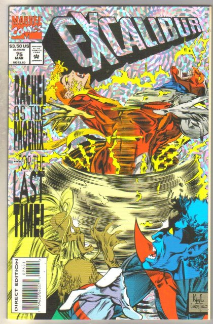 Excalibur #75 comic book mint 9.8