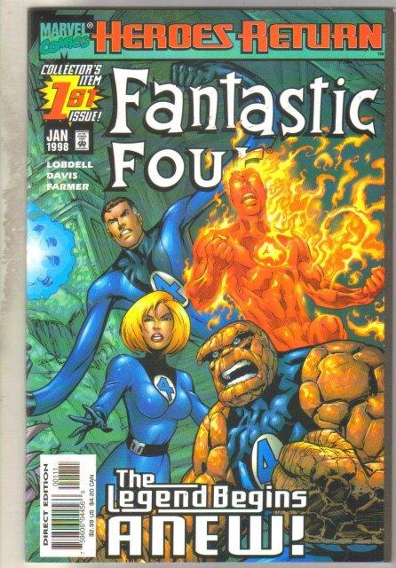 Fantastic Four #1 comic book mint 9.8