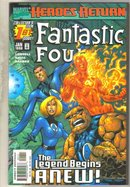 Fantastic Four #1 comic book mint 9.8