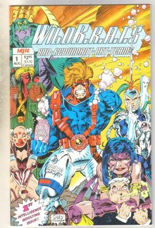 WildB.R.A.T.S. #1 comic book near mint 9.4